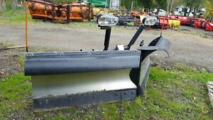 Snowdogg Stainless Steel Vx95 9 5 V plow With Wiring Mount Ford F250 Snow Plow