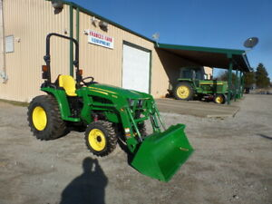 John Deere 3032e 4wd And Loader 2018 19hrs W warr Why Buy New