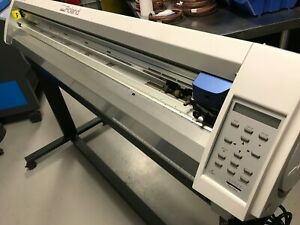 Roland Camm 1 Pro Gx 500 54 Large Format Vinyl Cutter Plotter Great Condition