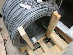 250 Roll Copperweld Hide 40 Jacketed Pole Ground Wire 2 Awg Copperclad