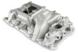 Weiand 8019 Big Block Chevy Oval Port Stealth Dual Plane Intake Manifold