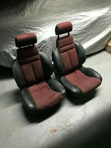 Rare 80 s Front Seats From A Maserati Biturbo Spyder Front Seats