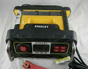 Stanley Re Charge It 50 Amp Battery Charger Maintainer W Lcd Screen Bc50bs