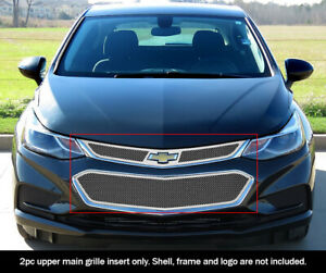 Fits 2016 2018 Chevy Cruze Upper Mesh Grille Insert