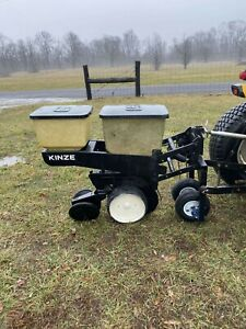 1 Row Kinze Corn Planter With Precision Finger Meters Shipping