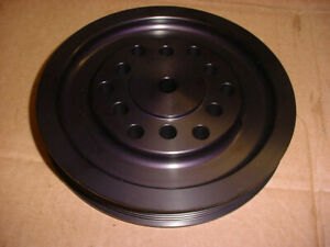 Blower Supercharger Accessory Drive Serpentine Belt V pulley Hub Bbc Chevy Ford