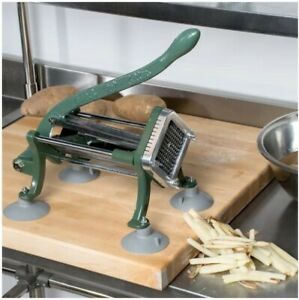 French Fry Cutter With Durable Suction Feet 1 4 Restaurant Bar Kitchen Cooking