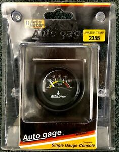 New In Box Auto Meter P N 2355 1 1 2 Water Temp Gauge Kit W Console