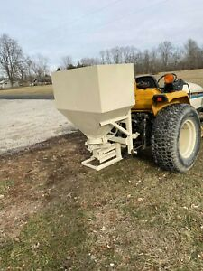 Herd 3pt 750 Broadcaster Seeder spreader Great For Food Plots 200 00 Shipping