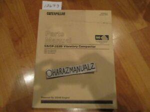 Caterpillar Cp 323d Cs 323d Vibratory Compactors Parts Manual