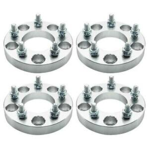 4pc 5x5 To 5x4 75 1 Wheel Spacers Adapters 12x1 5 For Chrysler Town