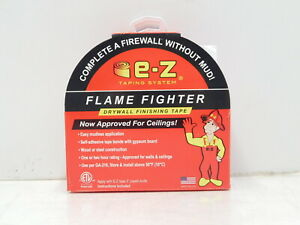 E z Taping Systems Flame Fighter Drywall Tape W Knife 250 Roll h9 1018