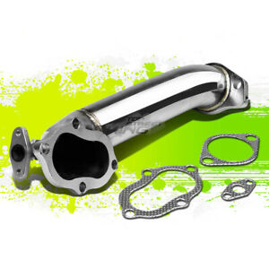 For 3000gt Gto Vr4 stealth Jdm Rear Turbo Outlet Downpipe Exhaust Elbow Pipe Kit