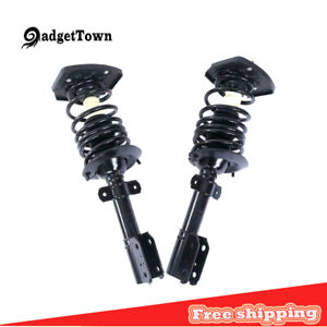 2 Rear Strut For 2007 2008 2009 2010 2011 2012 2013 Chevy Impala 16 Wheel Only