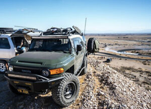 Hood Blackout For Toyota Fj Cruiser Off Road Racing Funny Decal Die Cut Sticker