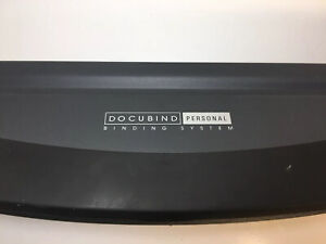 Gbc Docubind Personal Paper Book Document Binding System