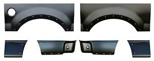 Wheel Arch Front Rear Lower Bed Kit 5 5 Bed For 04 08 F150 Pickup Truck
