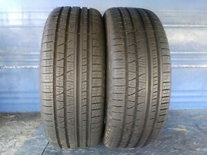 2 Pirelli Scorpion Verde A s 235 60 18 Landrover With 10 32nd Tread Left 107 V