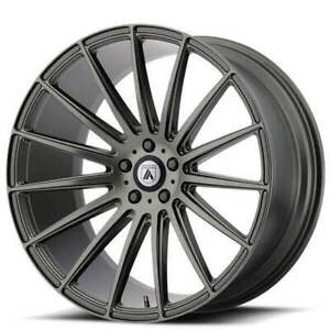4 20 Asanti Wheels Abl 14 Polaris Matte Graphite Rims b9