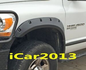 Fender Flares Fit 2004 2005 2006 2007 2008 Dodge Ram 1500 Pocket Rivet Bolt Dsn