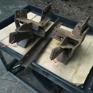 Fisher Minute Mount Plow Push Plates Dodge