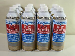 Berryman 0116 B 12 Chemtool Carburetor Fuel Treatment Injector Cleaner 12 Pack