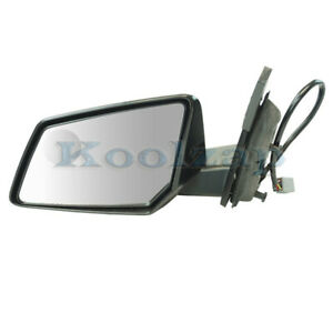 13 15 Acadia Traverse Rear View Mirror Power Heated W signal Light Driver Side