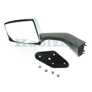 15 16 17 Vnl series Hd Truck Rear View Mirror Assembly Manual Chrome Driver Side