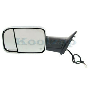 Ram 1500 2500 300 Truck Tow Mirror Power Heated W signal Puddle Lamp Left Side