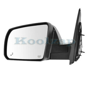 For 14 20 Tundra Limited Rear View Mirror Power Folding W Blind Spot Driver Side
