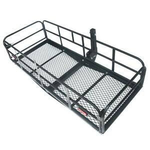 500lbs Luggage Rack Capacity Hitch mounted Cargo Carrier Rack With 2 Receiver