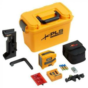 Pacific Laser Systems 3gkit Three point Self leveling Ip54 Green Laser Kit