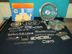 Misc Car Emblems And Parts Check It Out Lot A
