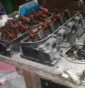 Chevy 454 Heads And Holly Carburetor