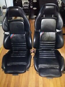 Vader Front Seats Black Leather Manual M3 E36