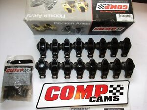 Comp Cams Roller Rocker Arms Ultra Pro Magnum 1 6 Ratio 3 8 Sbc Chevy 1602 16