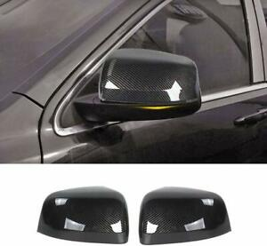Carbon Fiber Abs Rear view Mirror Cover Trim For Jeep Grand Cherokee 2011 2020