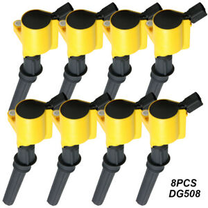 Dg508 Ignition Coil 8 Pack For Ford Explorer Expedition Lincoln 4 6l 5 4l V8
