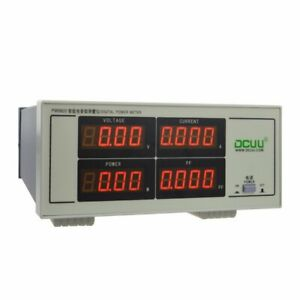 Pm9800 Ac Voltage Current Power Factor Digital Power Meter Tester Dynamomete