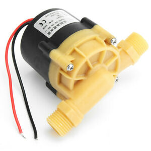 Dc 24v 55w Hot Water Pump Mini Booster Pump 22l min 11m For Chiller Machine