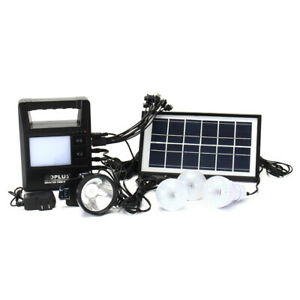 Portable Solar Panel Generator Charging Solar Powered System Home Generator Syst