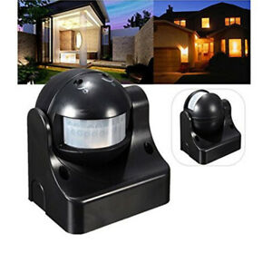 Outdoor 180 Degree Security Pir Motion Movement Sensor Detector Switch
