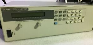 Agilent Hp Keysight 6671a 0 8v 0 220a Programmable Dc Power Supply