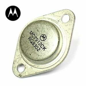 Motorola Mc7912ck Neg 12 Volt Regulator 1 Amp To 3 Usa Seller