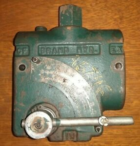 Flow Control Valve Brand Hydraulics Fcr51 12sae Used