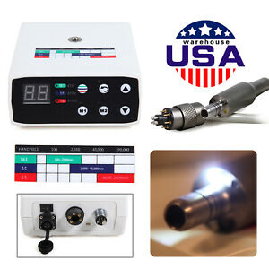 Usa Dental Led Brushless Electric Micromotor Internal Spray Fit Nsk 1 1 1 5 16 1