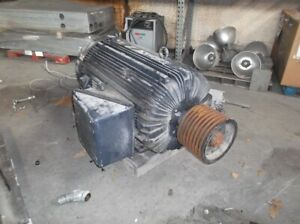 300 Hp Lincoln Ac Electric Motor 1200 Rpm Fr 5011 Tefcbb 2300 V Eok