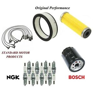 Tune Up Kit Filters Wire Spark Plugs For Oldsmobile Cutlass Supreme 4 3l 79 80