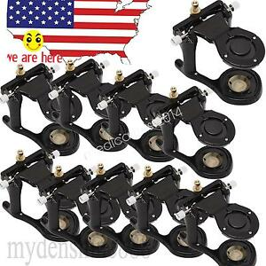 10xblack Pastic Dentist Dental C clamp Adjustable Articulator Holding Model Tool
