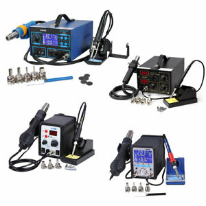110v Electric Smd Soldering Station Hot Air Heat Gun 852d 878d 995d 992da Lot